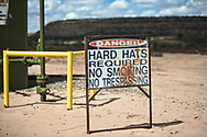 A well site on Don Schreiber's ranch in Blanco, New Mexico.