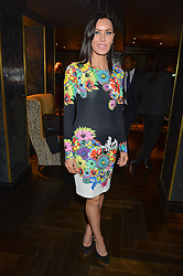 LINZI STOPPARD at the fourth annual Fayre of St James's charity Christmas concert hosted by the Quintessentially Foundation and The Crown Estate in partnership with Deutsche Asset & Wealth Management held at  St James's Church, 197 Piccadilly, London followed by a party at Quaglino's 16 Bury Street, London on 24th November 2015.