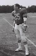 Ealing Eagles American Football team player, UK, 1984