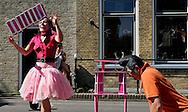 THE NETHERLANDS-TERSCHELLING-  Oerolfestival. Pandora Pink. PHOTO: GERRIT DE HEUS.Foto: Gerrit de Heus. Terschelling. 18/06/05. Oerolfestival.