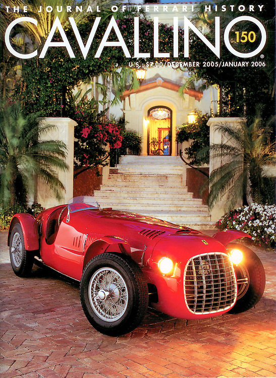 Magazine Cover - Ferarri Spyder