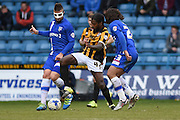 Port Vale midfielder Anthony Grant during the Sky Bet League 1 match between Gillingham and Port Vale at the MEMS Priestfield Stadium, Gillingham, England on 16 April 2016. Photo by Martin Cole.