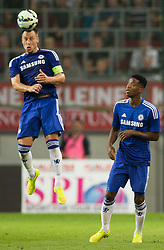 23.07.2014, Wörthersee Stadion, Klagenfurt, AUT, Testspiel, RZ Pellets WAC vs FC Chelsea, im Bild John Terry (FC Chelsea), Nathaniel Chalobah (FC Chelsea) // during a Friendly Match between RZ Pellets WAC and FC Chelsea at the Wörthersee Arena, Klagenfurt, Austria on 2014/07/23. EXPA Pictures © 2014, PhotoCredit: EXPA/ Johann Groder