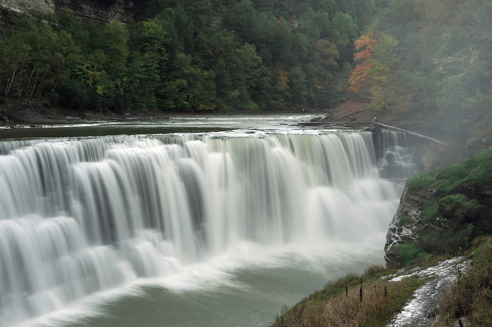 Lower Falls, Letchworth State Park, New York, USA