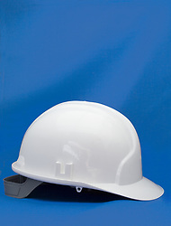 July 21, 2019 - Hard Hat On Blue Background (Credit Image: © John Short/Design Pics via ZUMA Wire)
