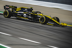 May 12, 2019 - Barcelona, Catalonia, Spain - NICO HULKENBERG (GER) from team Renault drives in in his RS19 during the Spanish GP at Circuit de Catalunya (Credit Image: © Matthias Oesterle/ZUMA Wire)