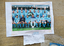 A picture featuring the late Cyrille Regis before Coventry City's and Swindon Town's match at the Ricoh Arena