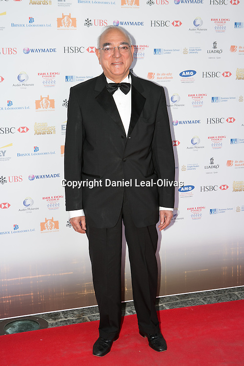 Asian Rich List Gala. Younus Sheikh attends the annual ceremony which recognises the country\'s richest Asians. Figures compiled by the Eastern Eye newspaper. Park Plaza Hotel, London, United Kingdom. Friday, 11th April 2014. Picture by Daniel Leal-Olivas / i-Images