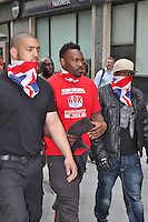 LONDON - July 12: Dereck Chisora at Odeon West End for the Haye Vs. Chisora Weigh In (Photo by Brett D.Cove)