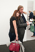 PRINCE CHARLES -HENRI DE LOBKOWICZ; ANNABELLE NEILSON, OPENING OF FRIEZE ART FAIR. Regent's Park. London.  12 October 2011. <br /> <br />  , -DO NOT ARCHIVE-© Copyright Photograph by Dafydd Jones. 248 Clapham Rd. London SW9 0PZ. Tel 0207 820 0771. www.dafjones.com.