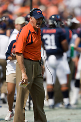 Virginia Cavaliers head coach Al Groh.  The Virginia Cavaliers defeated the Duke Blue Devils 23-14 at Scott Stadium in Charlottesville, VA on September 8, 2007  With the loss, Duke extended their longest-in-the-nation losing streak to 22 games.