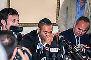 Mafia: conferenza stampa di Fabrizio Miccoli