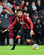 Arnaut Danjuma (14) of AFC Bournemouth during the Premier League match between Bournemouth and Liverpool at the Vitality Stadium, Bournemouth, England on 7 December 2019.