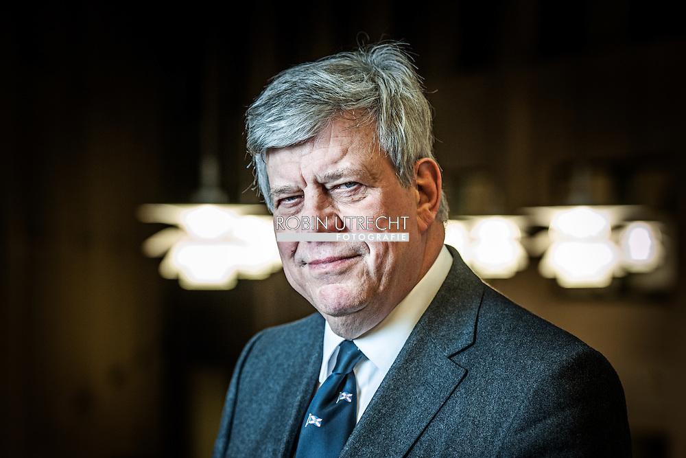 DEN HAAG - Portret van Ivo Opstelten . COPYRIGHT ROBIN UTRECHT