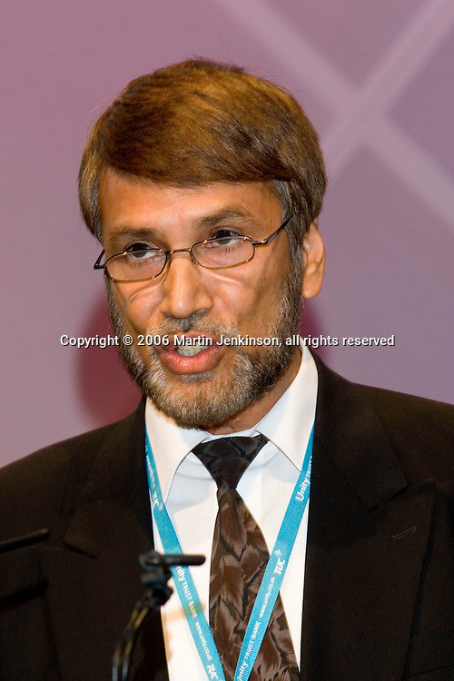Dr Abdul Bari, Secretary General Muslim Council of Britain, speaking at the TUC 2006.