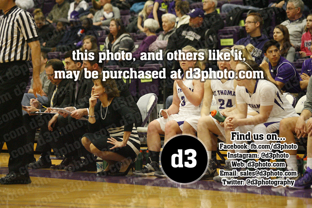 Women's Basketball: St. Thomas vs. Augsburg