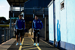 Liam Sercombe of Bristol Rovers and Michael Kelly of Bristol Rovers arrives at Memorial Stadium prior to kick off - Mandatory by-line: Ryan Hiscott/JMP - 17/09/2019 - FOOTBALL - Memorial Stadium - Bristol, England - Bristol Rovers v Gillingham - Sky Bet League One