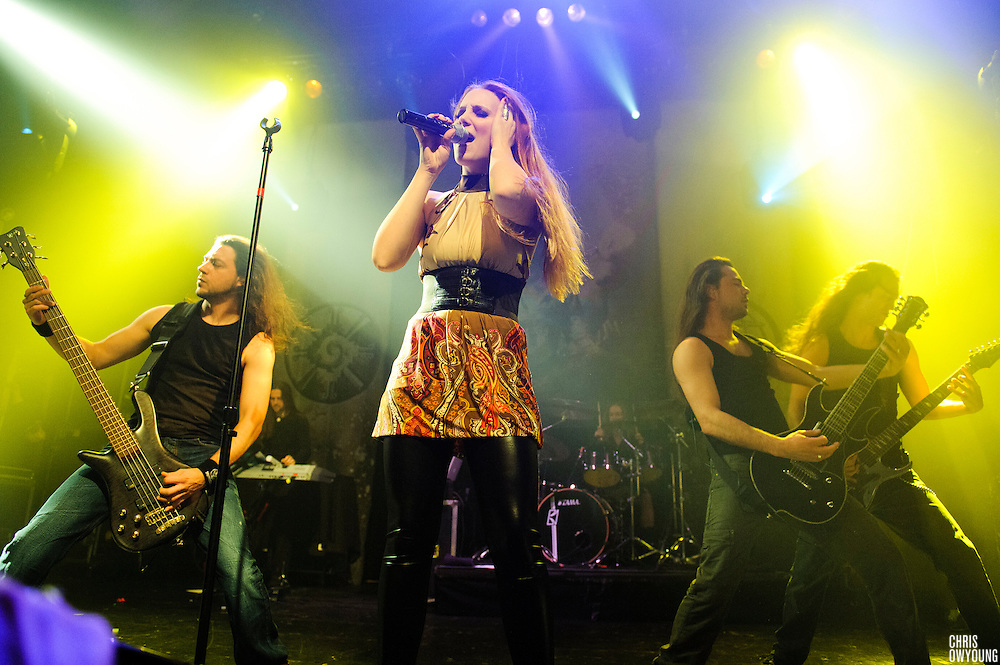 Epica performs at Gramercy Theater, NYC. January 29, 2010. Copyright © 2010 Chris Owyoung. All Rights Reserved.