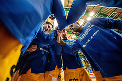 Team Sixt Primorska during basketball match between KK Sixt Primorska and KK Hopsi Polzela in final of Spar Cup 2018/19, on February 17, 2019 in Arena Bonifika, Koper / Capodistria, Slovenia. Photo by Vid Ponikvar / Sportida