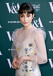 Ellise Chappell attending the VIP preview for the V&A Museum's Fashioned From Nature exhibition, in London. Photo credit should read: Doug Peters/EMPICS Entertainment