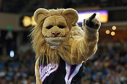 Jan 8, 2012; Sacramento, CA, USA; The Sacramento Kings mascot performs before the game against the Orlando Magic at Power Balance Pavilion. Orlando defeated Sacramento 104-97. Mandatory Credit: Jason O. Watson-US PRESSWIRE