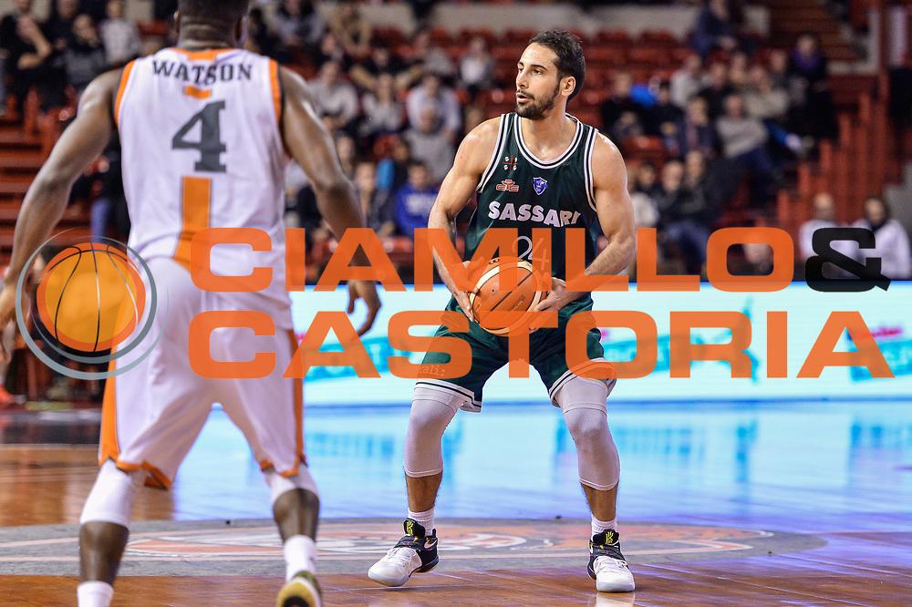 Rok Stipcevic<br /> Le Mans Sarthe Basket - Banco di Sardegna Dinamo Sassari<br /> FIBA Basketball Champions League 2016/2017<br /> Ottavo di finale<br /> Le Mans 07/03/2017