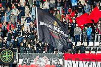 Alkmaar, 19-08-2017, AZ - ADO Den Haag, vlag, supporters.