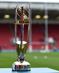 Greene King IPA Championship trophy - Mandatory byline: Joe Meredith/JMP - 25/05/2016 - RUGBY UNION - Ashton Gate Stadium - Bristol, England - Bristol Rugby v Doncaster Knights - Greene King IPA Championship Play Off FINAL 2nd Leg.