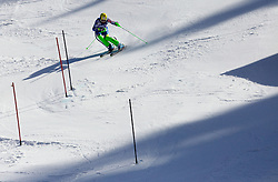 VALENCIC Mitja of Slovenia competes in 2nd Run of Men's Slalom - Pokal Vitranc 2012 of FIS Alpine Ski World Cup 2011/2012, on March 11, 2012 in Vitranc, Kranjska Gora, Slovenia.  (Photo By Vid Ponikvar / Sportida.com)