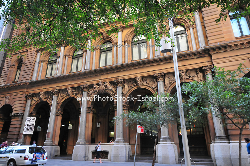 Australia, New South Wales, Sydney. Colonial Secretary's Building in Bridge Street