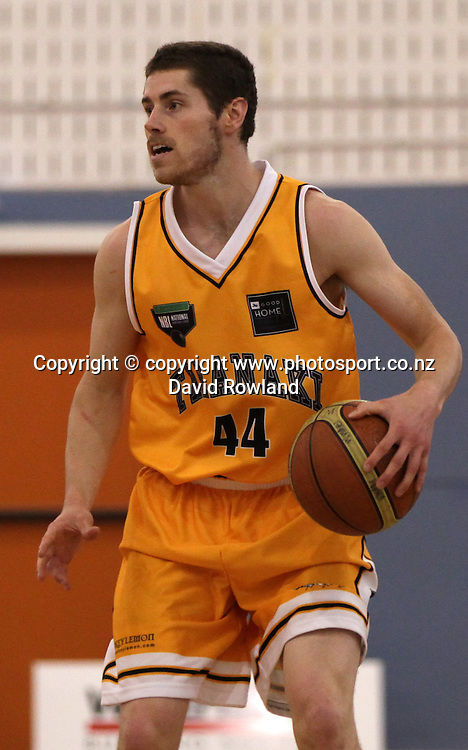 Taranaki's Jack Leasure plays in an NBL Basketball Match, Super City Rangers v Taranaki Mountain Airs, Otara, Auckland, New Zealand, Sunday, May 05, 2013. Photo: David Rowland/Photosport