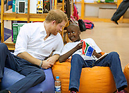 Prince Harry Visits Soweto School