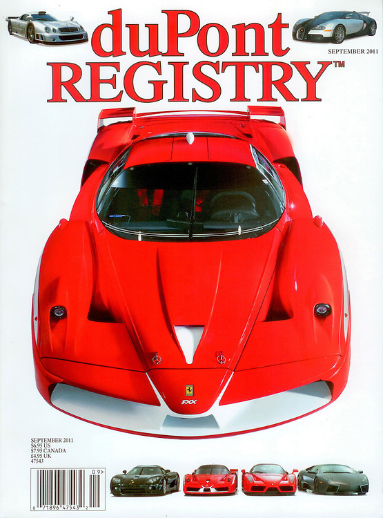 Magazine Cover - DuPont Registry