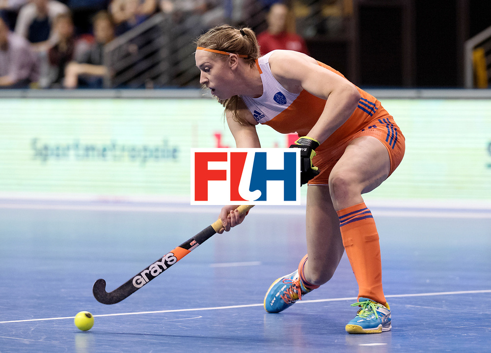 BERLIN - Indoor Hockey World Cup<br /> Quarterfinal 4: Netherlands - Czech Republic<br /> foto: Pien van Nes.<br /> WORLDSPORTPICS COPYRIGHT FRANK UIJLENBROEK