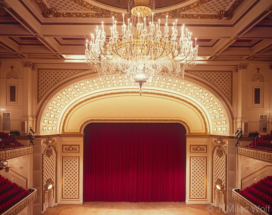 Music Hall Cincinnati Over the Rhine Interior