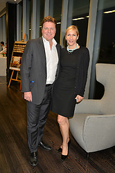 TANIA BRYER and ROD BARKER at the YOO 15 Anniversary Party hosted by John Hitchcox and Philippe Starck at Bankside, SE1 on 17th September 2014