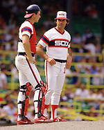 CHICAGO - 1986:  Manager Tony LaRussa of the Chicago White Sox looks on during an MLB game at Comiskey Park in Chicago, Illinois during the 1986 season . (Photo by Ron Vesely)  Subject:   Tony LaRussa