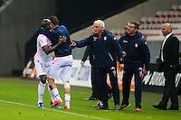 Joie Dany TCHOUNKEU NOUNKEU - 04.04.2015 - Nice / Evian Thonon - 31eme journee de Ligue 1<br />Photo : Serge Haouzi / Icon Sport