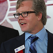 Inductee and trainer Freddie Roach as seen during the 23rd Annual International Boxing Hall of Fame Induction ceremony at the International Boxing Hall of Fame on Sunday, June 10, 2012 in Canastota, NY. (AP Photo/Alex Menendez)