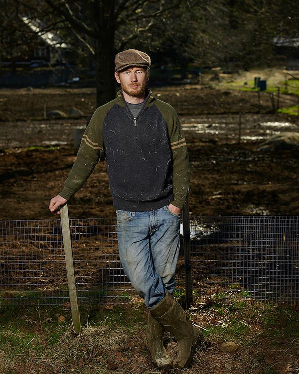 Burnshirt Valley Farm owner Floyd Kelley