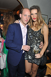 CARLO CARELLO and PHOEBE WATSON at a party to celebrate the publication of Tatler Magazine's Little Black Book 2012 held at Annabel's, Berkeley Square, London on 7th November 2012.