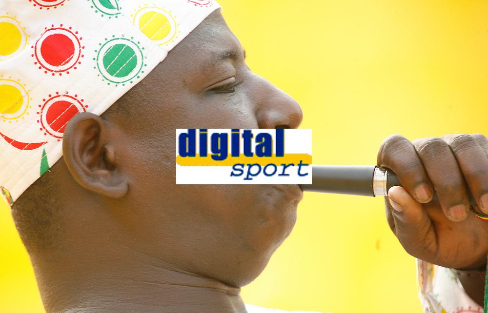 Photo: Steve Bond/Richard Lane Photography.<br />Ghana v Morocco. Africa Cup of Nations. 28/01/2008. Ghana fans