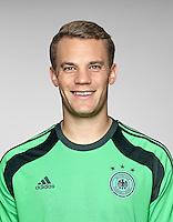 FUSSBALL   PORTRAIT TERMIN DEUTSCHE NATIONALMANNSCHAFT 24.05.2014 Torwart Manuel Neuer (Deutschland)