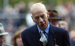 Sir Henry Cecil, 10-time champion trainer, has died at the age of 70.<br /> Responsible for 25 British Classic winners, Cecil was also the leading handler at Royal Ascot with a record 75 successes.<br /> Sir Henry Cecil after Frankel winning The Qipco Champion Stakes. Ascot 20.10.12<br /> Photo by: Racingfotos.com / i-Images.
