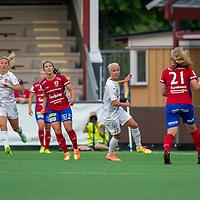 2020-06-27 | Malmö, Sverige: FC Rosengård (17) Caroline Seger under matchen i OBOS Damallsvenskan mellan FC Rosengård och Vittsjö GIK på Malmö IP ( Foto av: Henrik Eberlund | Swe Press Photo )<br /> <br /> Nyckelord: Malmö, Fotboll, OBOS Damallsvenskan, Malmö IP, FC Rosengård, Vittsjö GIK, HERV200627