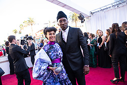 Amatus Sami-Karim and Oscar® nominee Mahershala Ali, arrive on the red carpet of The 91st Oscars® at the Dolby® Theatre in Hollywood, CA on Sunday, February 24, 2019.