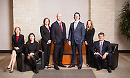 A group photo of an Austin law firm. Photo by Austin corporate photographer, Matthew Lemke