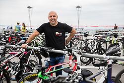 Milan Erzen, Ironman director 1 day before competition Ironman 70.3 Slovenian Istra 2018, on September 22, 2018 in Koper / Capodistria, Slovenia. Photo by Vid Ponikvar / Sportida