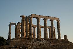 Temple of Poseidon, Cape Sounion, Attic, Greece