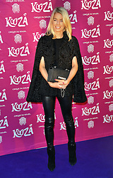 Caroline Stanbury attends  Cirque Du Soleil Kooza Press Night  at The Royal Albert Hall, Kensington Gore, London on Tuesday 6 January 2015